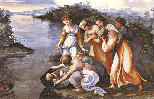 Mosè salvato dalle acque (prima parte)