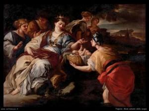 Tiepolo: Mosè salvato dalle acque