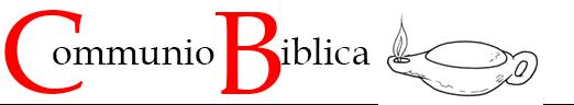 Communio Biblica