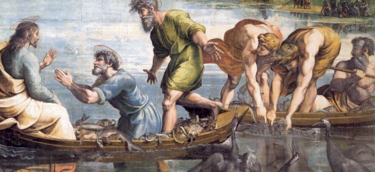 Pescatori di uomini vivi (Lc 5,1-11) – V° domenica del T.O. anno C