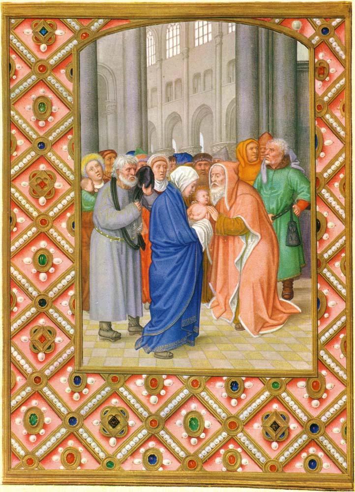 Il vecchio Simeone e l'incontro con la Consolazione